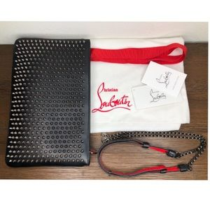 Christian Louboutin Clutch with Spikes